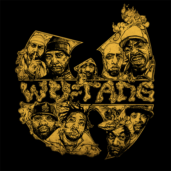 Illustrated concept Album Artwork wutang