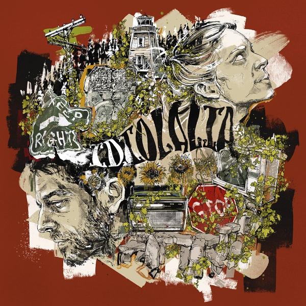 Idiolalia Album artwork illustration design
