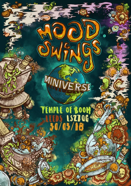 Moodswings Miniverse Poster