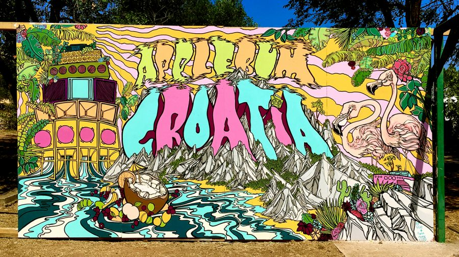 live mural festival painting