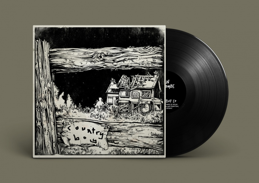 Illustrated Album Sleeve Artwork Design